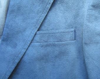 Vintage Halston Ultra Suede Blazer circa the 80's