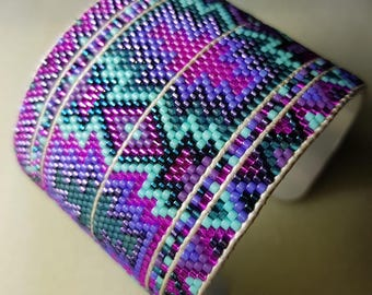 Miyuki Woven Pearl Bracelet