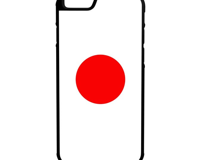 Japan Flag iPhone Galaxy Note LG HTC Hybrid Rubber Protective Case