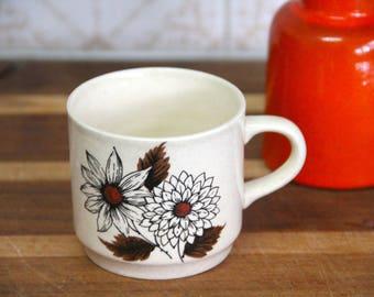 Johnson of Australia Bread Plate - Russet flower design