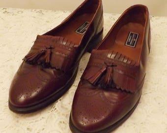 Vintage Bostonian Tassel Loafers Size 11 . 5