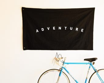 Adventure Flag FREE SHIPPING