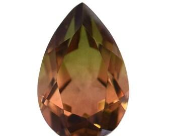 Seashell Quartz Triplet Pear Cut Loose Gemstone 1A Quality 15x10mm TGW 6.25 cts.