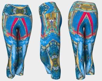 09399 Yoga Capri: Under the Bridge Photography. Yoga Leggings, Yoga Pants, Yoga Tights, Running Tights, Leggings