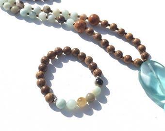 how to make a stretch mala bracelet