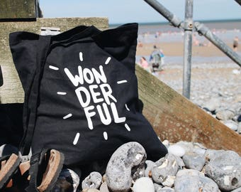 Wonderful Positivi-tote-  Tote Bag - limited edition great gift