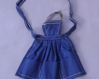 Vintage Barbie PAK Blue Apron, Near Mint