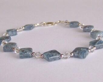 Kyanite Crystal Bracelet