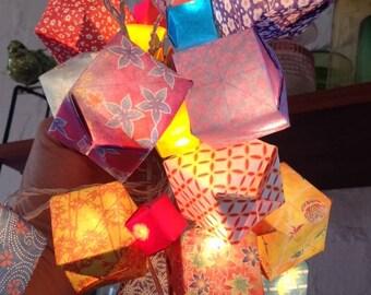 Ajohan origami string of fairy lights