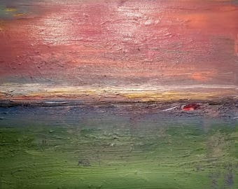 Abstract Landscape 10 Original Oil Painting (50cm x 40cm)