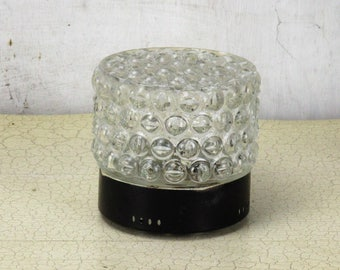 Small high Bubbled Glass Flush mount Sconce Fixture Plafonniere Lamp 4.72""