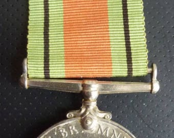 British WW2 Medal. The Defence Medal. An Original Medal In Very Nice Condition.