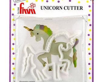 Unicorn Fondant and Gumpaste Cake Topper Cutter/Unicorn Fondant Cutter/Unicorn Gumpaste Cutter