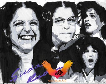 Gilda Radner Drawing