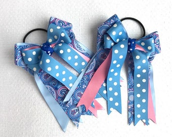 Hair Bows 4 Horse Shows, Equestrian  Clothing, Beautiful Gift