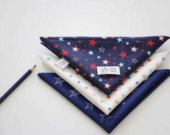 Twinkle Stars - Quarter Fabric Pack 3 Fabric 1set - Sets for 3 each 45 X 55 cm