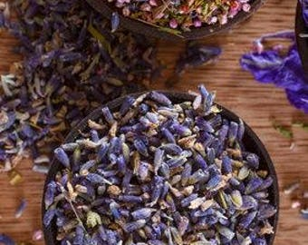 Organic Dried Lavender Buds - Whole - Sifted