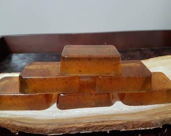 Alaska Wild Harvested Chaga Honey Eucalyptus Rosemary Mint Soap