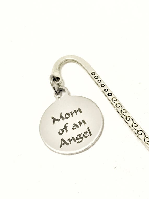 Miscarriage Sympathy Gift, Mom Of An Angel Bookmark, Angel Mom Sympathy Gift, Miscarriage Gift, Miscarriage Memorial, Child Loss Sympathy