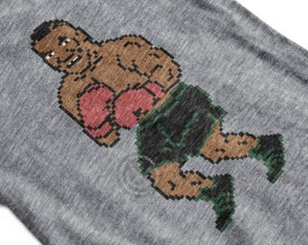 Mike Tyson Punchout Inspired Mens Triblend T-Shirt