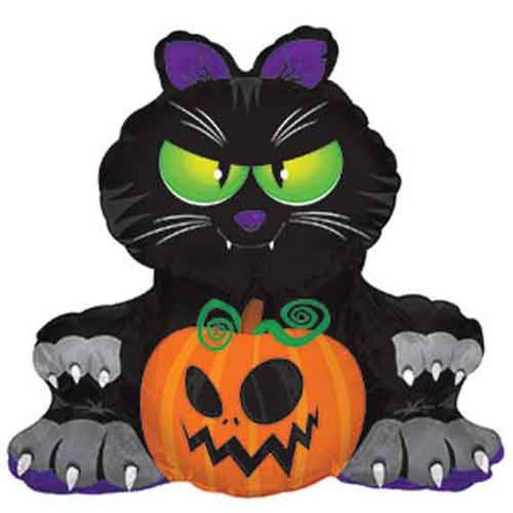 like this item - Black Cat Halloween Decorations