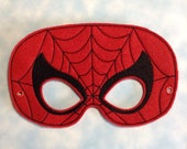 Arachnid Man, Child's Mask, Pretend Play, Imagination, Dress Up, Halloween Costume, Easter Basket, Photo Booth Prop, Cosplay, Web