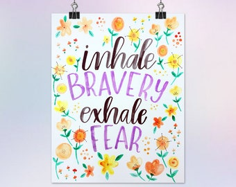 11x14 Custom Hand Lettered Watercolor Painting of a Quote/Song Lyric/Bible Verse