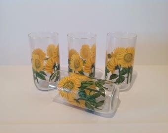 Sunflower kitchen Etsy
