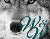 Custom order wolf hybrid ear band