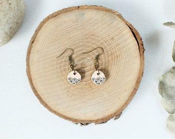 """Sculpted earrings """"Japan"""""""