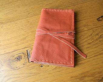 Companion leather orange