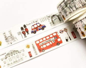 London British Washi Tape 25mm x 7m