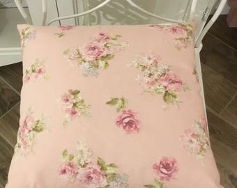 Shabby flowers pillow