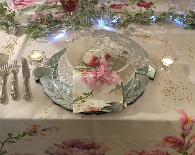 Sabby Flower Napkin Set