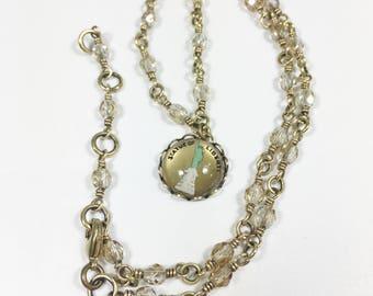 Unique Choker, Short Casual Chic Necklace, Eclectic Necklace, Unusual Distinctive, Indie Necklace