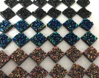 Druzy Glitter Magnet