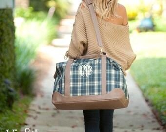 Middleton Plaid Weekender Bag