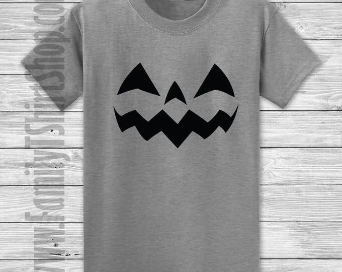Jack O Lantern Face 2 T-shirt