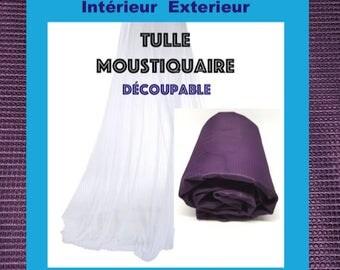 Tulle NET VIOLETTulle Marquisette mesh square Ideal NET 150cm width is 10M 2