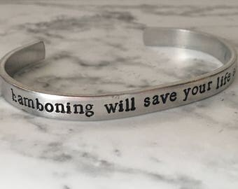 Regular Show / Hamboning Will Save Your Life Someday / Mordecai and Rigby / Nerd Gift / Geek Gift / Pop Culture Gift / Best Friend Gift
