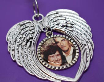 Photo Memorial ornaments - Photo - Personalized - Remembrance gift - Christmas  ornament  - Christmas  gift - Photo - custom photo