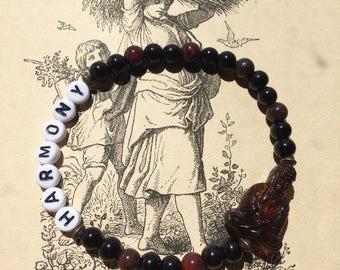 "Bracelet ""Harmony"" Buddha bracelet with jade"