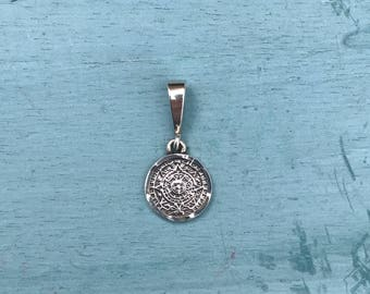 Mexico Sterling Silver Pendant 2g