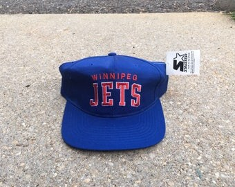 Vintage Winnipeg Jets Starter Arch Snapback
