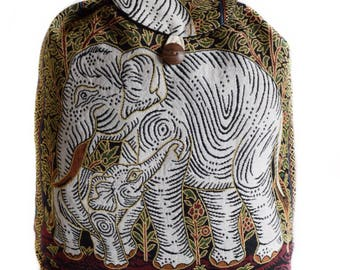 Hippie backpack, Hobo  backpack, Elephant backpack, Hipster backpack, Hippy backpack