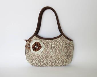 Vintage ladies bag / Retro ladies bag / Lace ladies bag / Small handbag / Shoulder ladies bag / Evening ladies bag / Elagant ladies handbag