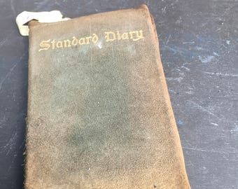 Harriet (Berry) Vosmus 1923 Diary Portland, Maine