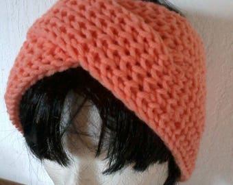 Headband, headband, head band ear protects two crossed bands