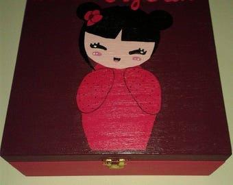"""Pretty Princess"" jewelry box personalized"