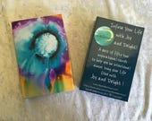 Inspiration Card Deck, Original Art,  Abstract Art, Jumbo Cards, Gifts for Her, Original Paintings